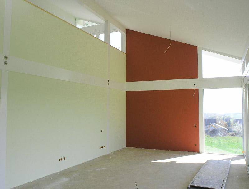 tapezieren raumdesign dekorputze industrieanstriche spanndecken akustiksegel. Black Bedroom Furniture Sets. Home Design Ideas